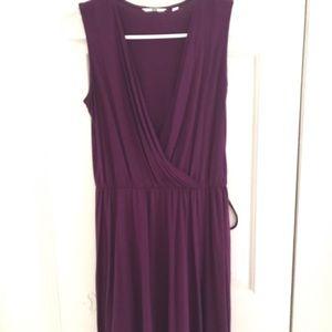 Uniqlo purple dress